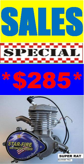 SUPER RAT 70 ENGINE KIT 